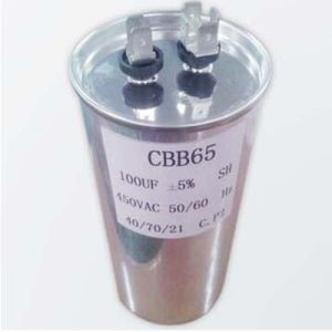 Metallized Polypropylene Film Capacitor for AC-Cbb65 pictures & photos