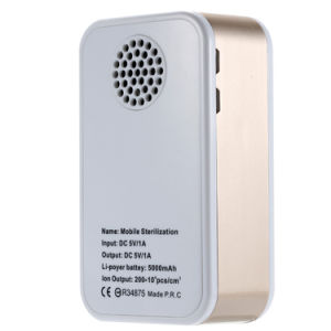 Multipurpose 3 in 1 5000mAh Mobile Charger Power Bank with Ozone and Negative Ion Air Purifier pictures & photos