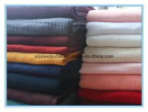 Solid Color Cotton Muslin Swaddle Blanket pictures & photos