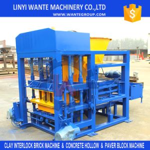 Wante Brand China Product Automatic Paver Block Making Machine for List Scale Industry pictures & photos