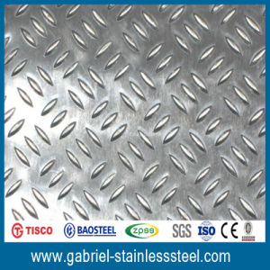 201 202 304 316 Stainless Steel Diamond Checkered Plate pictures & photos