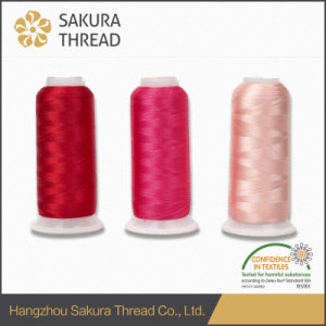 Oeko-Tex 100% Rayon Viscose 120d/2 Thread with High Tenacity pictures & photos