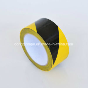 Yellow-Black Marking Tape for Floor Warning with Spec 48mm X 20m pictures & photos
