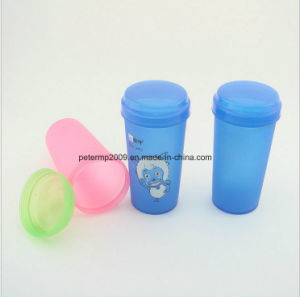 Promotion and Cheap Plastic Protein Shaker Cup with 9 Colors 14oz and 400ml pictures & photos