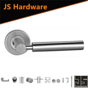 Stainless Steel Tube Lever Handle Casting Door Handle pictures & photos