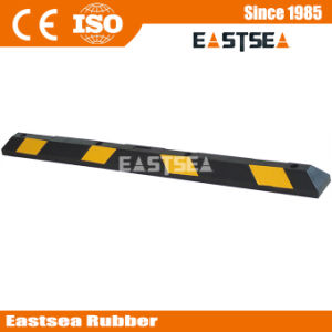 High Resistance Recycled Parking Rubber Car Stop pictures & photos