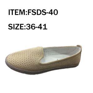 Fashion Women Leather shoes Dance Shoes Leisure Shoes (FSDS-37) pictures & photos