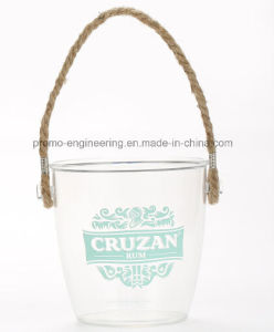 Wholesale High Quality Plastic Beer Ice Bucket with Handle pictures & photos