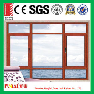 Easy Installation Double Glass Casement Window pictures & photos