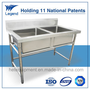 Hot Selling Stainless Steel Kitchen Commercial Sink for Europe pictures & photos