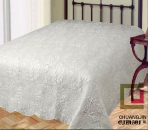 Bedding Set Embossed Quilt Solid Color