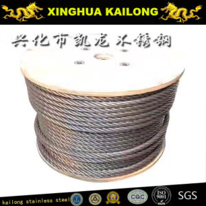Steel Wire Rope (AISI 316 1X19-5.0mm) pictures & photos