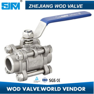 3-PC Butt Weld Ball Valve pictures & photos