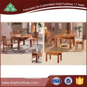 Hotsale Solid Table and Chairs Set Home Furniture pictures & photos