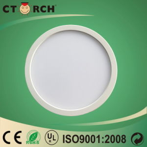 2017 Plastic Surface Round Panel Light 6W 18W pictures & photos