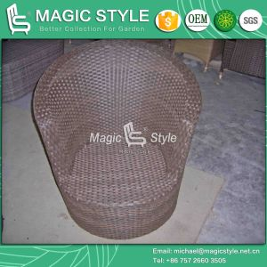 Outdoor Leisure Sofa Set Rattan Sofa with Cushion (Magic Style) pictures & photos