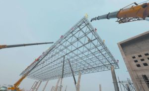 Steel Structure Grid Structural for Commercial Steel Roofing & Flooring pictures & photos