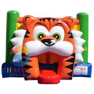 Commerical Grade Tiger Inflatable Jumping Bouncy Castle for Kids pictures & photos