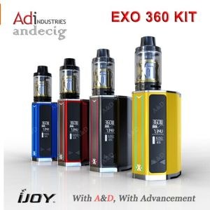100% Original Ijoy Exo 360 Kit High Quality Ijoy Exo 360 Kit pictures & photos