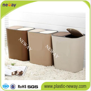 Popular Cheap Small Indoor Plastic Garbage Can pictures & photos