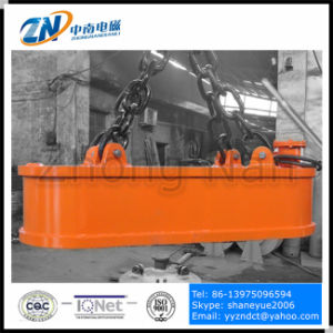 Truck Unloading Magnet for Steel Ingot with 2500 Kg Lifting Capacity MW61-240100L/1 pictures & photos