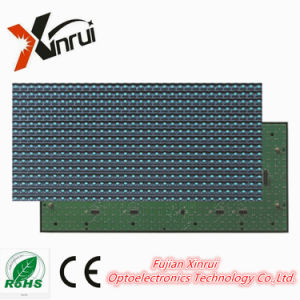 P10 Blue Single Color LED Module of Text Screen of Advertising Display pictures & photos