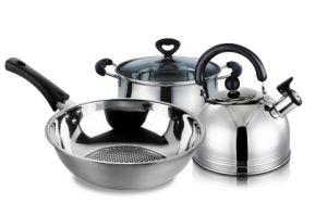 4 Pieces Stainless Steel Cookware Set pictures & photos