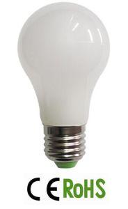 A55 LED Ceramic Glass Bulb E27 LED Lamp pictures & photos