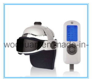 2013 New Product Heating Air Pressure Head and Eye Massager with Music Function