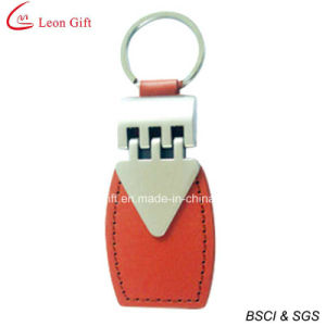 Wholesale Metal Leather Keychains Online (LM1550) pictures & photos