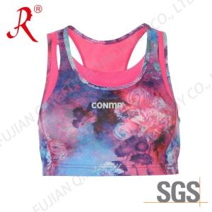 Good Quality Sports Bra/ Fitness Top (QF-S330) pictures & photos