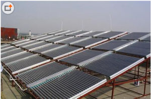Project Low Pressure Solar Collector for Hotel School Domestic House pictures & photos