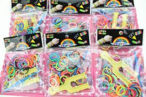 Fashion Jewelry Wholesale Rainbow Loom Rubber Band Bracelet