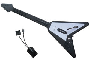 10 Fret Wireless Guitar for PS3/PS2/Wii (Video Game Accessories)