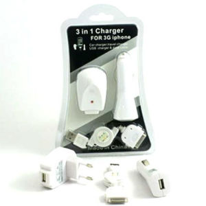 3 in 1 Mobile Phone Charger for iPhone AA-02 pictures & photos
