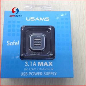 Usams Dual USB Car Charger for iPhone & Android pictures & photos