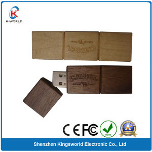 16GB OEM Wood USB Flash Disk pictures & photos