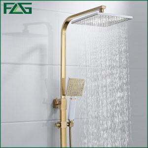 Flg Gold Bathroom Luxury Shower Set pictures & photos