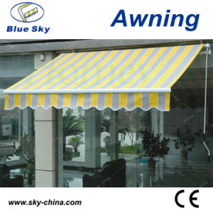 Popular Durable Polyester Electric Retractable Awning (B1200) pictures & photos