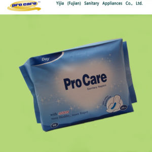 Premier Quality Sanitary Towel with Anion Chip (SNPR02D) pictures & photos