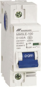 Mini Circuit Breaker (MM5-100-1P) pictures & photos