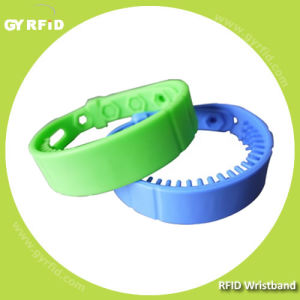 Reusable UHF Gen2 Wristband Reach up to 2-5meter (GYRFID) pictures & photos