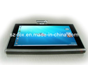 "Fox Windows 7, XP 3G Tablet PC with 10.1"" Touch Intel Atom N2600 1.6GHz Ddriii 533MHz WiFi G-Sensor Bluetooth Camera pictures & photos"