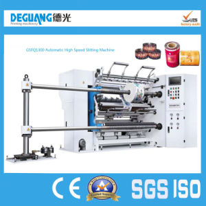 Plastic Paper Automatic High Speed Slitting Machine pictures & photos