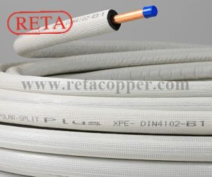 Single Insulated Copper Tube for Air Conditioning pictures & photos