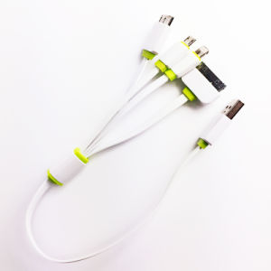 Hot Sale 4 In1 USB Charging Cable for iPhone (LCCB-045) pictures & photos