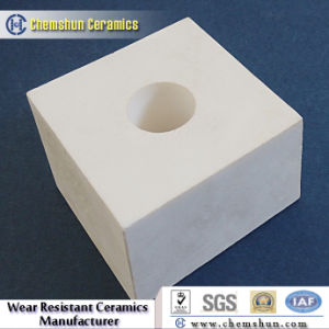 Interlocking Alumina Ceramic Wear Plate with Groove pictures & photos