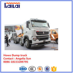 Sinotruck Tipper HOWO 8X4 371HP Dump Truck for Ethopia Market pictures & photos
