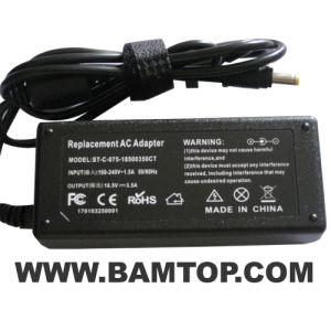 Laptop Adapter for HP 18.5V 3.5A 4.8*1.7