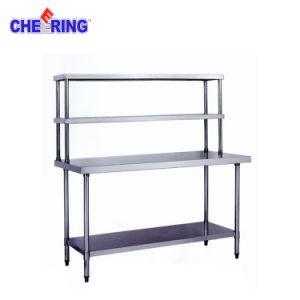 Commercial Stainless Steel Workbench with Shelves pictures & photos